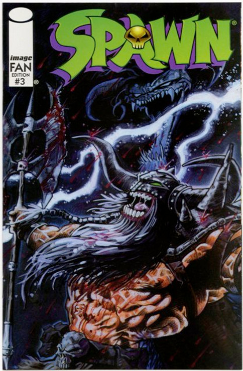 Originally available polybagged with issues of Overstreet's FAN in October 1996