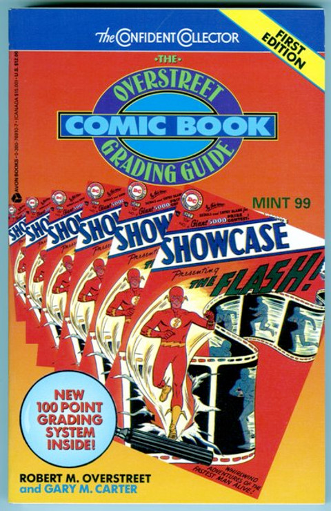 The Overstreet Comic Book Grading Guide 1st Edition