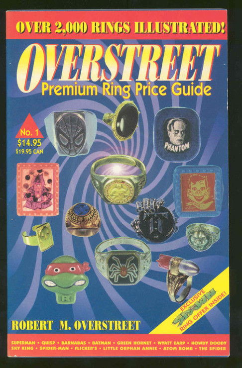 The Overstreet Toy Ring Price Guide #1 SC