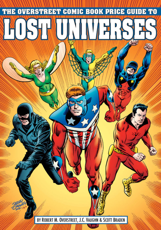 The Overstreet Comic Book Price Guide to Lost Universes - Cover B: Mighty Crusaders