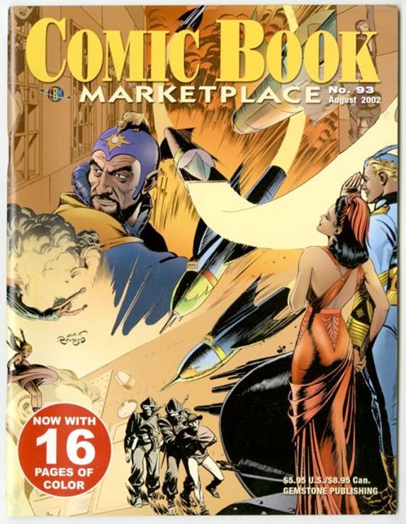Comic Book Marketplace Volume 3 # 93 _ Cover A