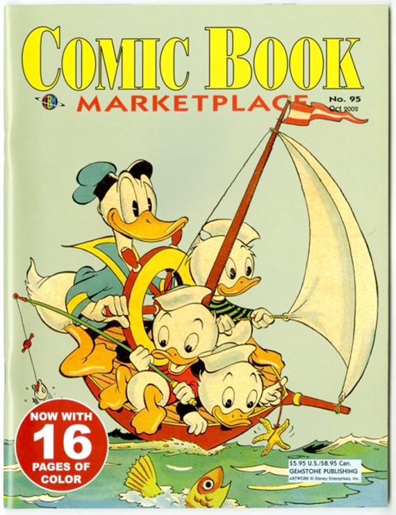 Comic Book Marketplace Volume 3 # 95 _ Cover A