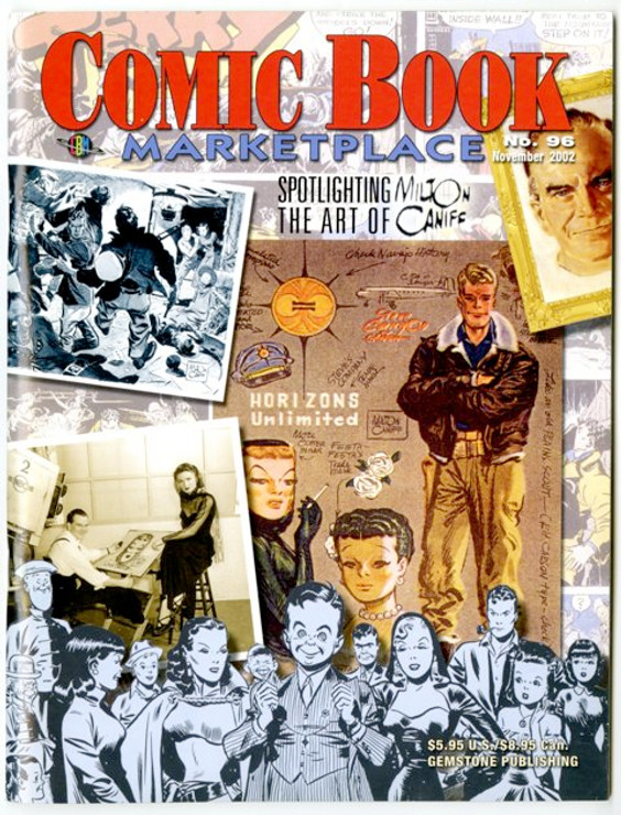 Comic Book Marketplace Volume 3 # 96 - Cover A