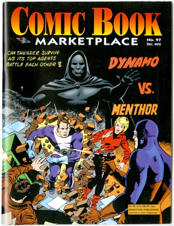 Comic Book Marketplace Volume 3 # 97 _ Cover B