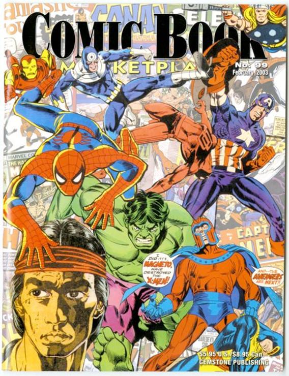 Comic Book Marketplace Volume 3 # 99