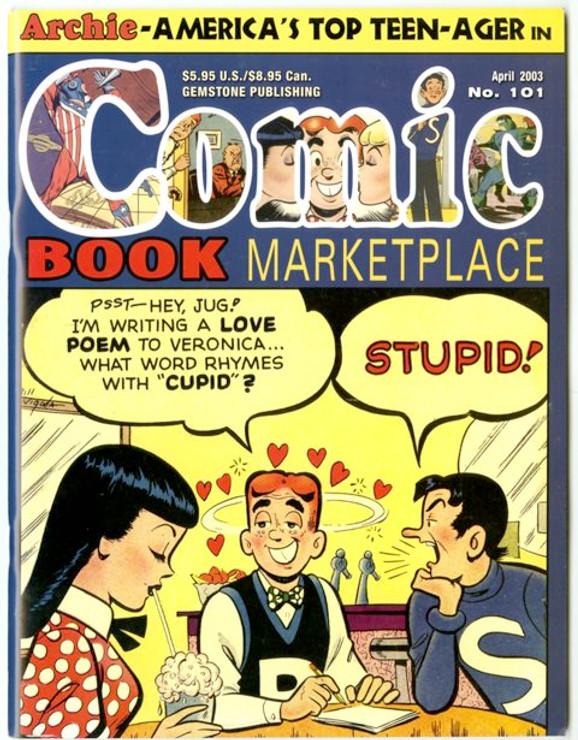 Comic Book Marketplace Volume 3 #101 _ Cover A