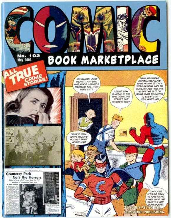 Comic Book Marketplace Volume 3 #102 _ Cover A