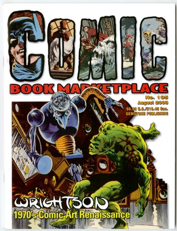 Comic Book Marketplace Volume 3 #105 _ Cover A