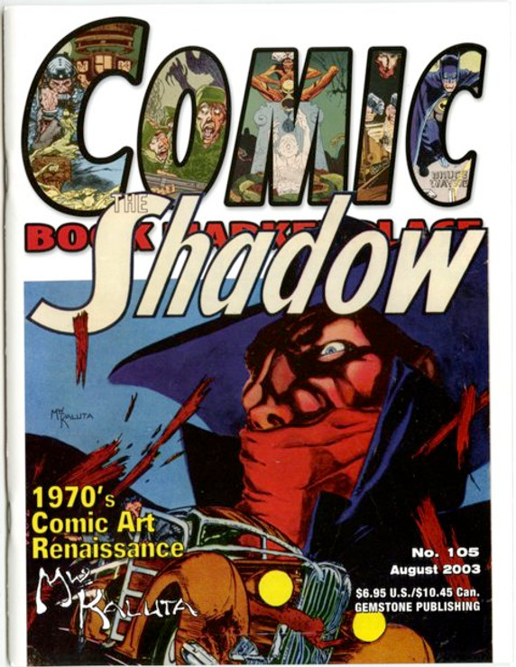 Comic Book Marketplace Volume 3 #105 _ Cover B