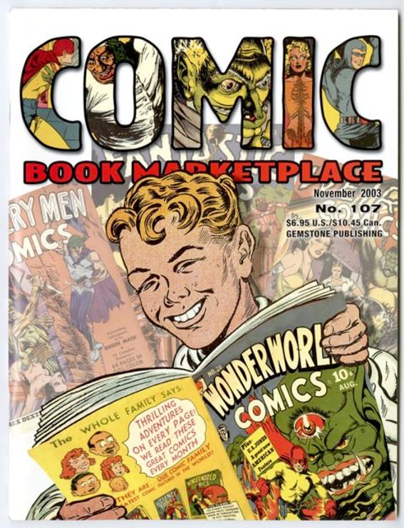 Comic Book Marketplace Volume 3 #107