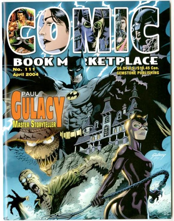 Comic Book Marketplace Volume 3 #111 _ Cover A