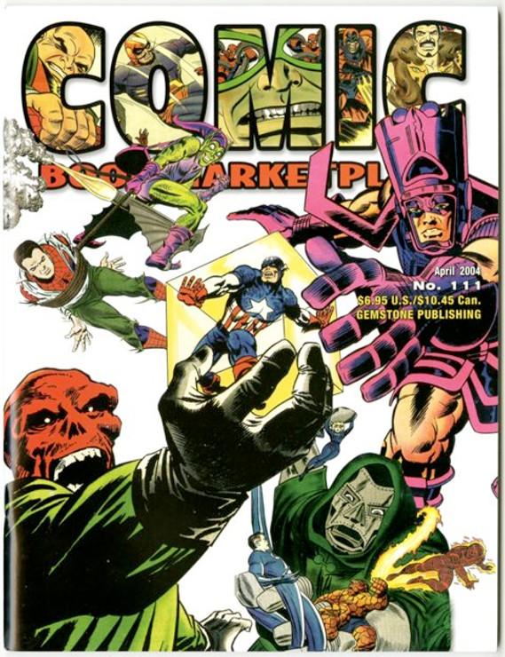 Comic Book Marketplace Volume 3 #111 _ Cover B