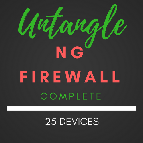 25 Device Untangle® NG Firewall Complete