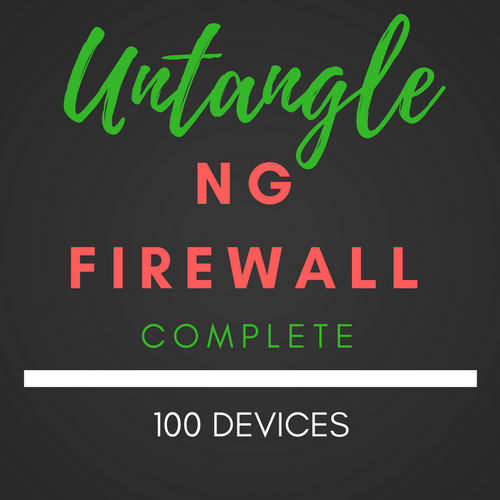 100 Device Untangle® NG Firewall Complete