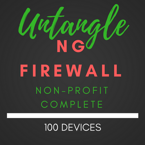Untangle NG Firewall NON-PROFIT Complete 100 users