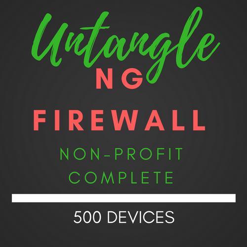 Untangle NG Firewall NON-PROFIT Complete 500 users