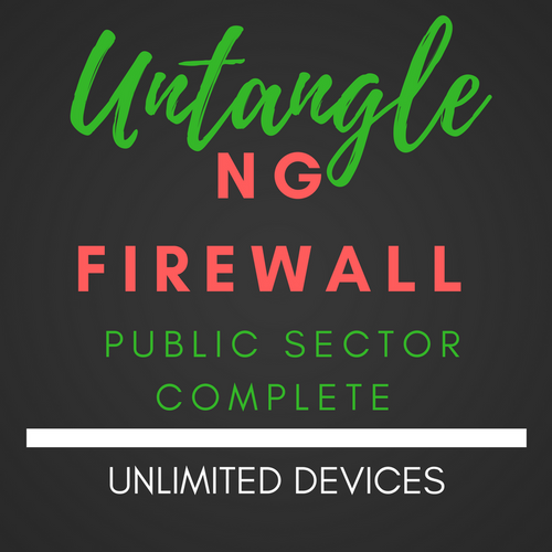 Untangle NG Firewall Public Sector Complete Unlimited Users
