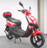 """Denali 49cc Moped Scooter with 12"""" Wheels- Electric and Kick Start"""