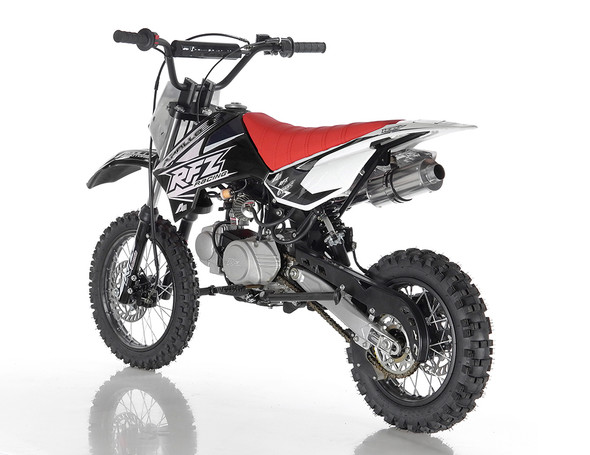 "Apollo DB-X6 Dirt Bike 125cc Engine - Fully Auto Transmission (14""/12"") Tires - Small Frame"