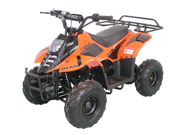 Vitacci 110CC ATV Hawk 6 - Kids Four Wheeler