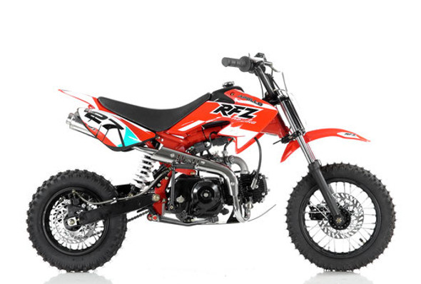 Apollo 110cc Dirt Bike DB-27 Semi Automatic transmission - Kids Size