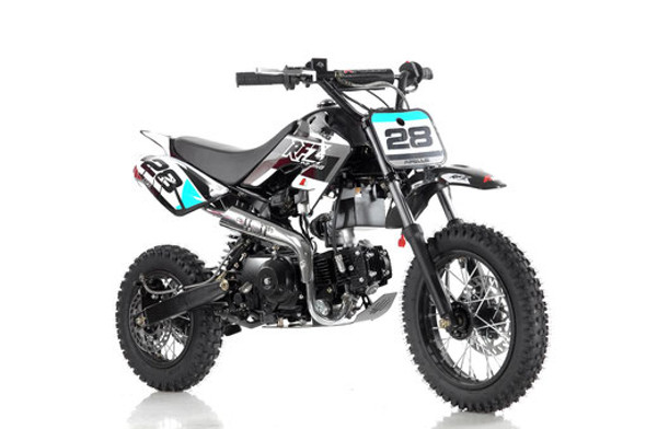 "Apollo RFZ 110 DB-28 Dirt Bike - Fully Automatic Transmission (12""/14"")  Kids Dirt Bike"