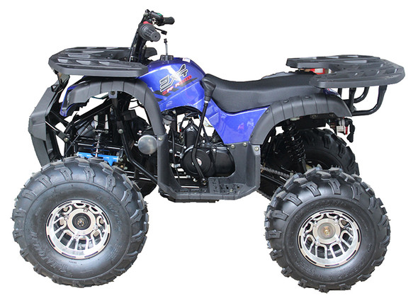 125CC ATV Extreme Rider 10 DLX - Chrome Wheels
