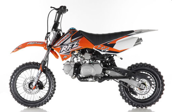 Apollo DB-X5 Dirt Bike 125cc Engine - Manual Transmission - Medium Frame