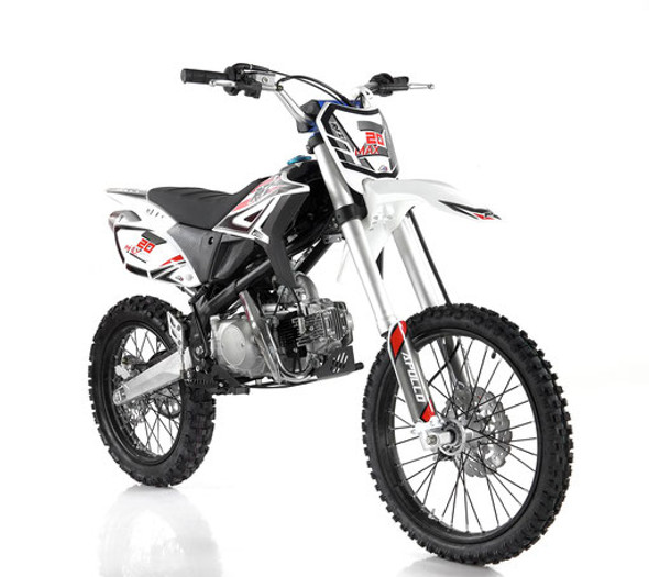 Apollo RFZ 125 Z20 Max Dirt Bike - Manual Transmission (16'/19') tires - Large Frame
