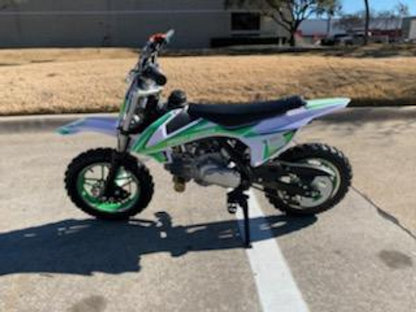 "Vitacci DB-S60 Dirt Bike - 60CC Fully Automatic 10"" Wheels"