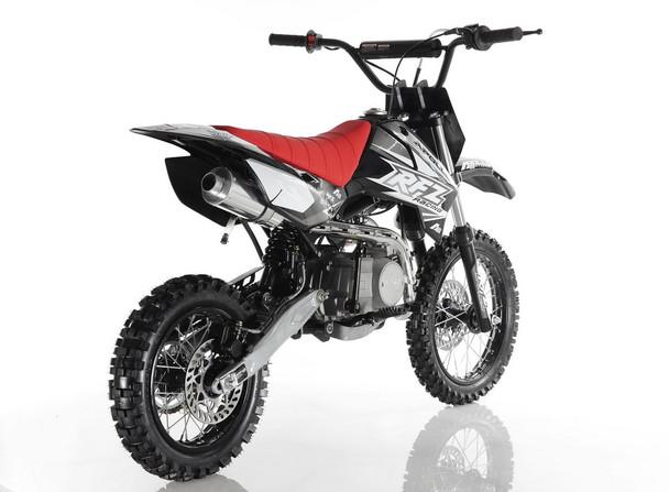 "Apollo RFZ 110 DB-X4 Dirt Bike - Semi Auto Transmission (14""/12"") tires - Medium Frame"