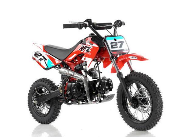 "Apollo RFZ 110 DB-27 Dirt Bike - Semi Automatic transmission (12'/14"") - Kids Size"