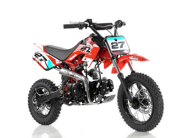 "Apollo RFZ 110 DB-27 Dirt Bike - Semi Automatic transmission (12'/14"") - Kids Size"