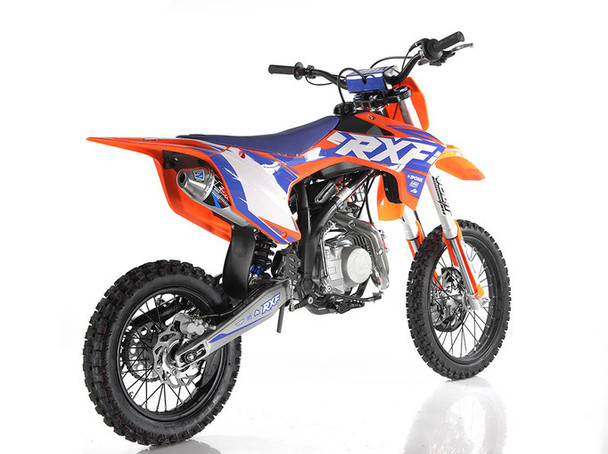 Apollo RXF 150 FREERIDE - 140cc Manual Transmission (14'/17') tires - Large Frame Dirt Bike