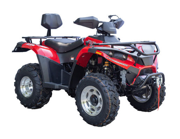 Terminator 300 - Full Size ATV - Water cooled Four wheeler with winch