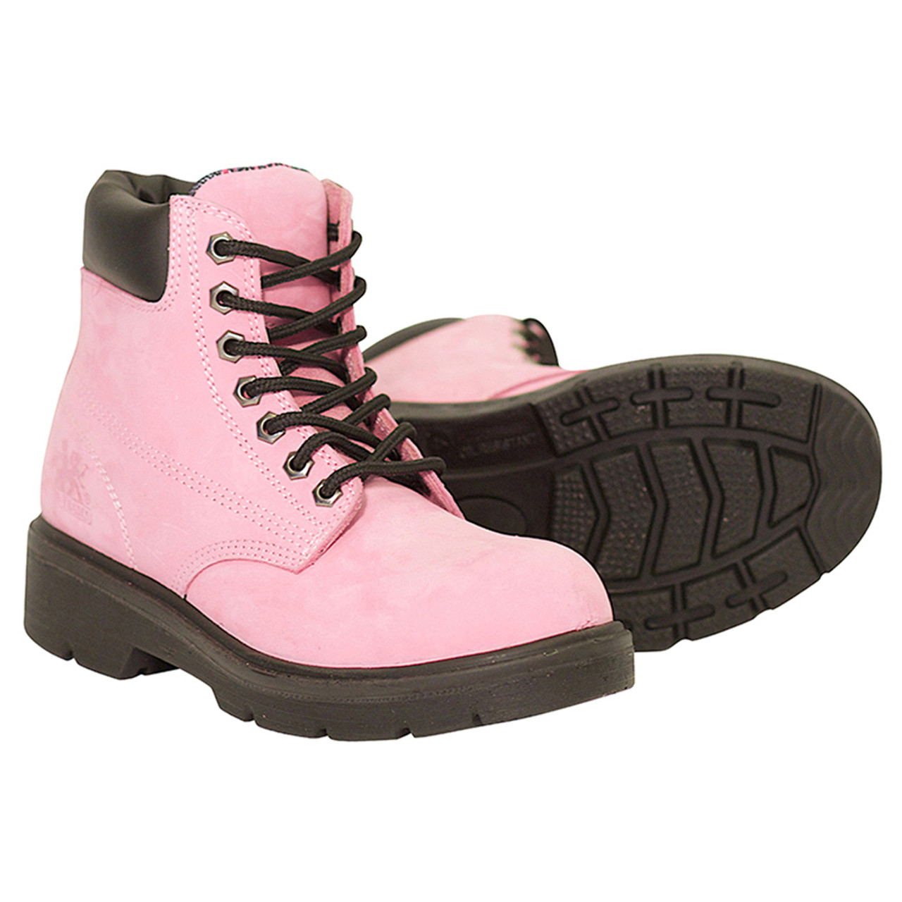 e2ee5405e4e Women's Waterproof Industrial Pink Safety Work Boot Alice