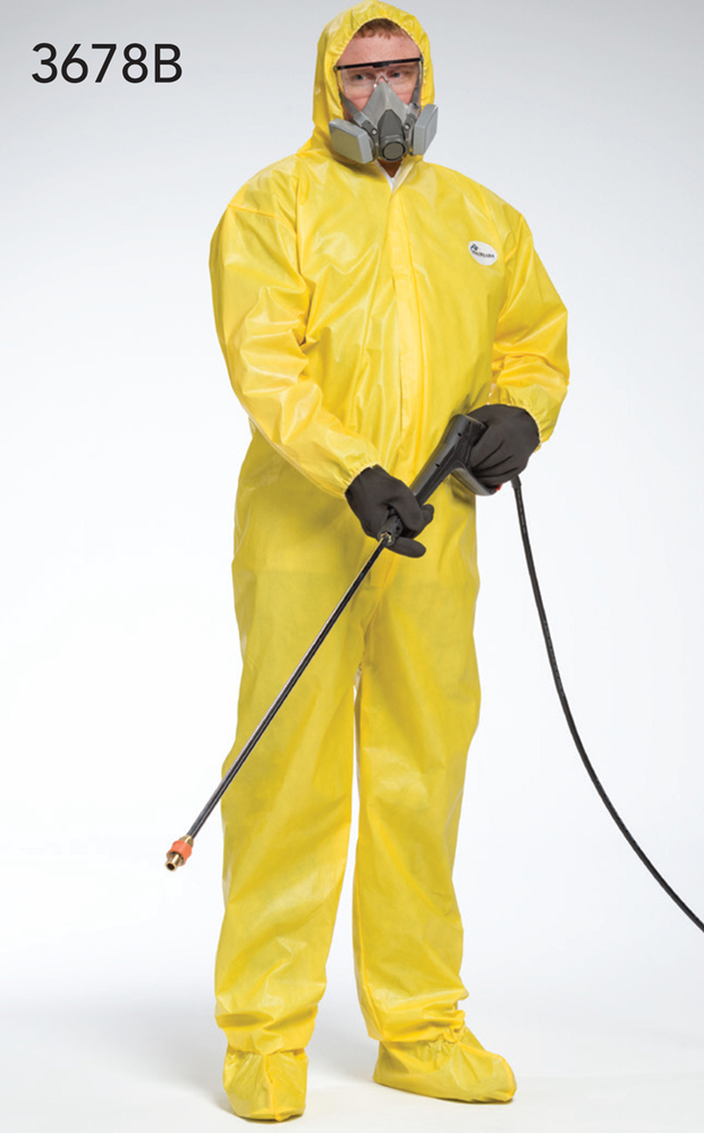 West Chester 3679B Chemical Disposable Hood & Boot Coverall