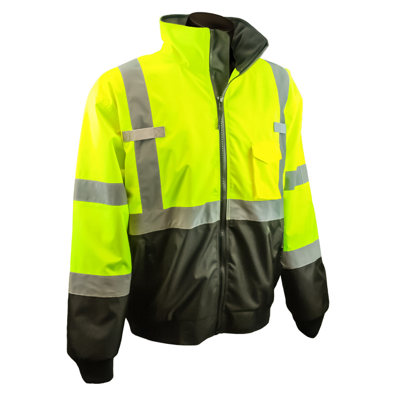 85ce0da0a64 Radians Class 3 Hi-Viz 2-in-1 Removable Liner Bomber Jacket - Aris ...