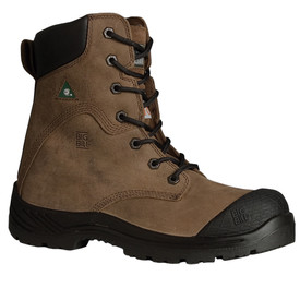 Big Bill BB6320 Men's 8 Inch Shock Resistant Brown Work Boot
