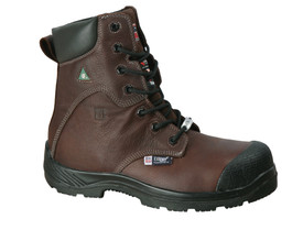 Big Bill's BB6530 Metal Free Waterproof 8 In Brown Work Boot