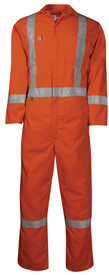 Big Bill 408US7 FR CAT 2 Unlined High Vis Orange Coverall