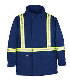 Big Bill M305US7 FR High Viz UltraSoft Winter Coat CAT 3