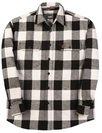 Big Bill 121 Made in USA 100% Plaid Flannel Work Shirt