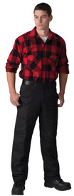 Big Bill 338 Heavy Winter Black Quilted Nylon Pants