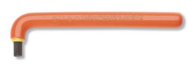 Cementex Insulated Long Arm L Individual Allen Wrenches - Red Insulated Hex Wrench in the shape of an L.