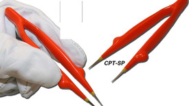 Cementex Insulated Straight & Curved TZ6NT45 Tweezers