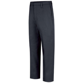 Horace Small Women's EMT 6 Pocket Uniform Pants -Front View of Dark Navy EMT Trouser with 2 Quarter-Top Front Pockets, a cargo pocket on each leg and a crease on each leg.