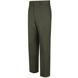 Horace Small Men's Land Management Twill Field Pants - earth green men's twill long work pants with  belt loops, 2 Quarter top front pockets and zipper closure. Front view.