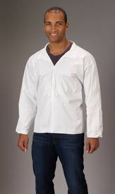 Lakeland MicroMax NS Long Sleeve Shirt -  White MicroMax NS Long Sleeve Disposable White Shirt