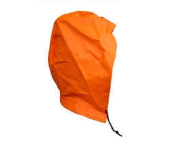 NASCO H4000FO Sentinel FR CAT 2 Detachable Rain Hood - Orange rain hood with draw string